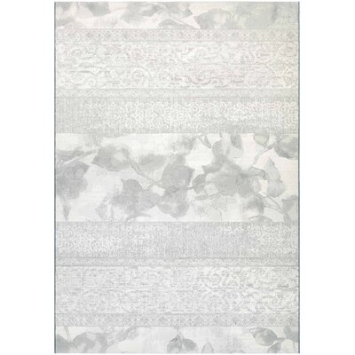 Norman Pearl Area Rug Rug Size: Rectangle 92 x 129