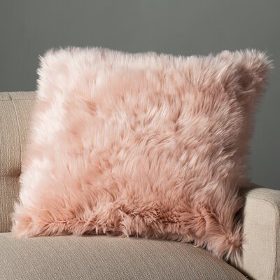 Scunthorpe Acrylic Throw  Pillow Color: Rose