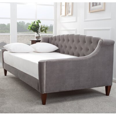 Alanna Upholstered Sleeper Sofa Upholstery: Opal Grey