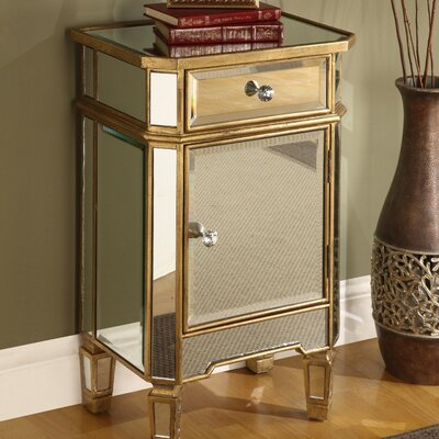 Hugo 1 Drawer Accent Cabinet