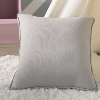Cort Cotton & Linen Throw Pillow Size: 18 H x 18 W x 4 D, Color: Light Gray
