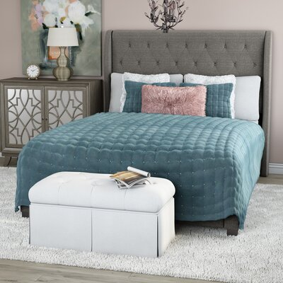 Southampton Upholstered Panel Bed Size: King