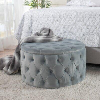 Bouchard Ottoman Upholstery: Light Gray