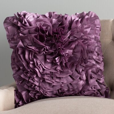 Clover Throw Pillow Color: Cool Pulm