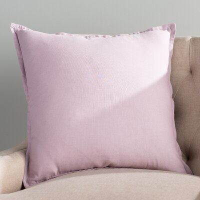 Windsor Throw Pillow Size: 20 H x 20 W x 4 D, Color: Lavender
