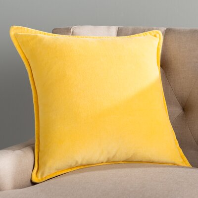 Guido Smooth 100% Cotton Throw Pillow