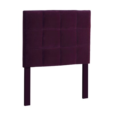 Fonda Upholstered Panel Headboard Size: Twin