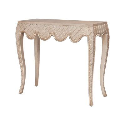 Mikayla Carved Cabriole Console Table
