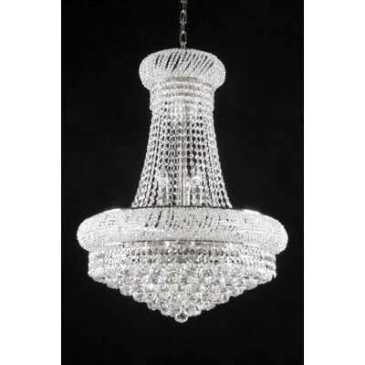 Montana 15-Light Empire Chandelier Size: 50 H x 24 W x 24 D