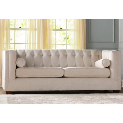 Willa Arlo Interiors WRLO6530 Dalila Chesterfield Sofa Upholstery