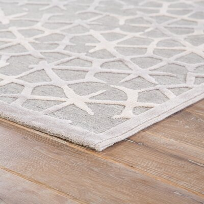 Barron Gray/Tan Area Rug Rug Size: Rectangle 2 x 3