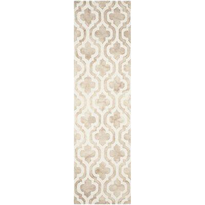 Blakeston Hand-Tufted Beige/Ivory Area Rug Rug Size: Runner 23 x 8
