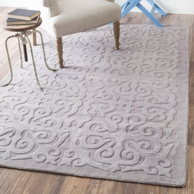 Stambruges Hand-Woven Gray Area Rug Rug Size: Runner 26 x 8