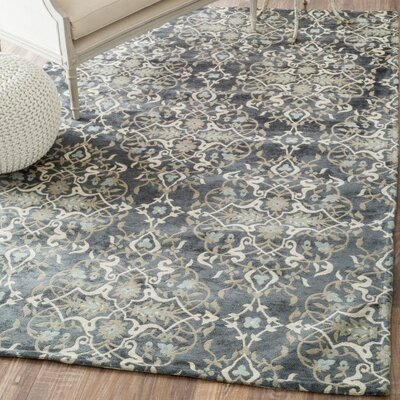 Delphinia Denim Area Rug Rug Size: Rectangle 9 x 12
