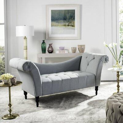 Nyla Settee Upholstery: Ice Blue