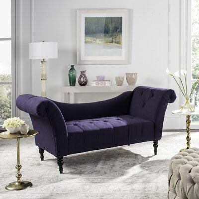 Nyla Settee Upholstery: Lilac Purple