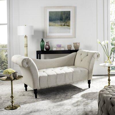 Nyla Settee Upholstery: Light Taupe