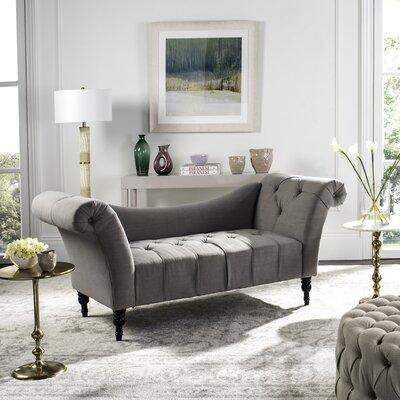 Nyla Settee Upholstery: Taupe