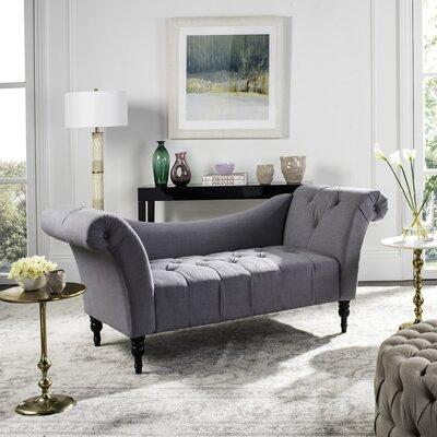 Nyla Settee Upholstery: Gray