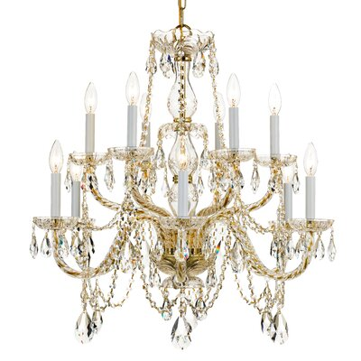 Tinley 12-Light Candle-Style Chandelier