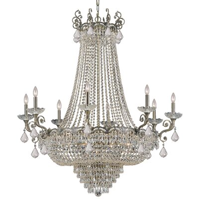 Rupelmonde 20-Light Crystal Chandelier Crystal: Swarovski Strass