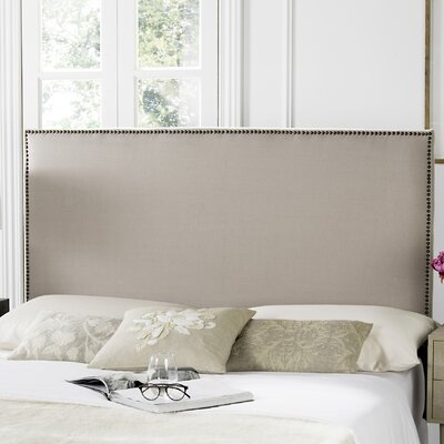 Farringdon Upholstered Headboard Upholstery: Taupe, Size: Queen