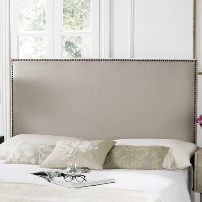 Farringdon Upholstered Headboard Size: Full, Upholstery: Taupe