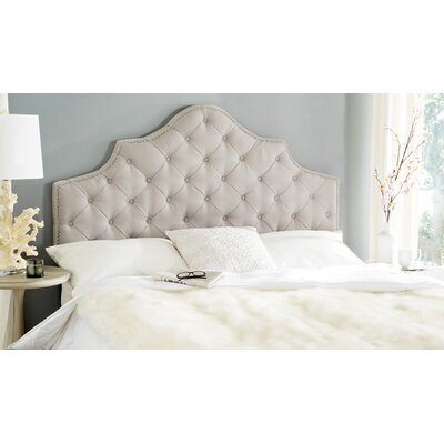 Monika Upholstered Panel Headboard Size: King
