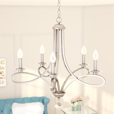 Berger 5-Light Candle-Style Chandelier