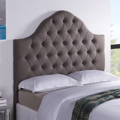 Floyd Upholstered Panel Headboard Size: Full / Queen, Upholstery: Slate