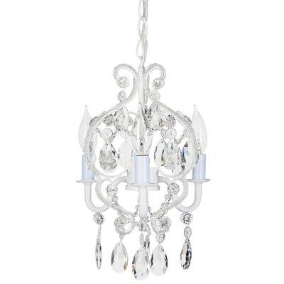 Alida 3-Light Crystal Chandelier