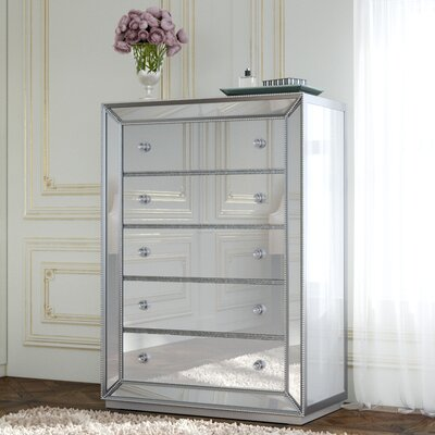 Acuna 5 Drawer Bedroom Chest