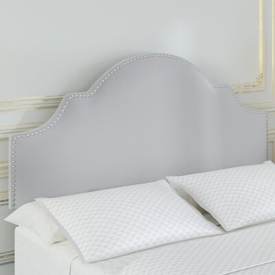 Corbett Upholstered Panel Headboard Upholstery: Light Gray, Size: Full/Queen