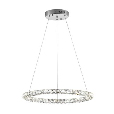 Cadmoin 50-Light LED Crystal Pendant