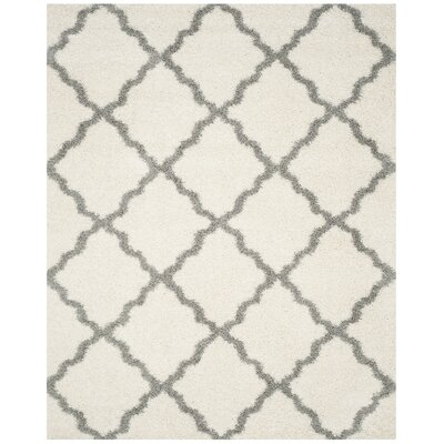 Kivett Ivory Area Rug Rug Size: Rectangle 8 x 10
