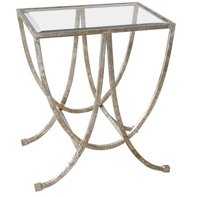 Farrow Antiqued End Table