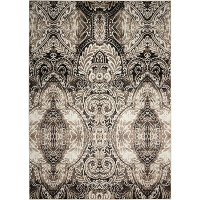 Gabor Light Gray Area Rug Rug Size: Rectangle 79 x 106