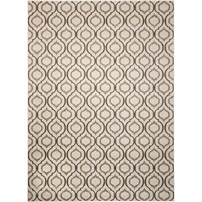 Gabor Brown Area Rug Rug Size: Rectangle 79 x 106