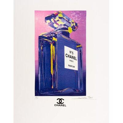 Profile Fairchild Paris Chanel No. 5 Perfume ad Wall Art