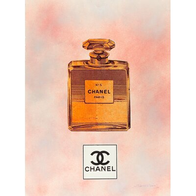 Vintage Sunset Fairchild Paris Chanel No. 5 Wall Art