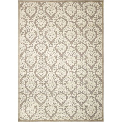 Hartz Silver/Ivory Area Rug Rug Size: Rectangle 79 x 1010
