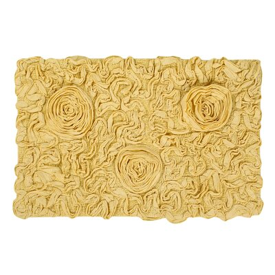 Pascoe Bath Rug Size: 21 W x 34 L, Color: Butter