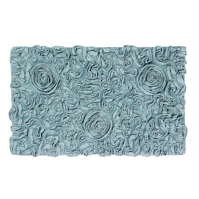 Pascoe Bath Rug Size: 24 W x 40 L, Color: Blue