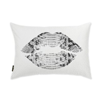 Wallis Solid Kiss Lumbar Pillow