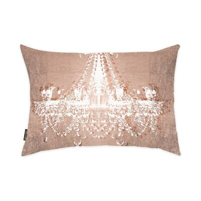 Oliver Gal Home Dramatic Entrance Rose Lumbar Pillow