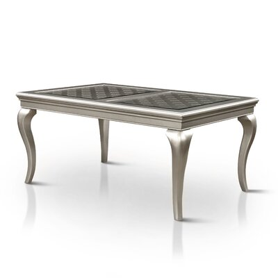 Lane Extendable Dining Table Color: Gray