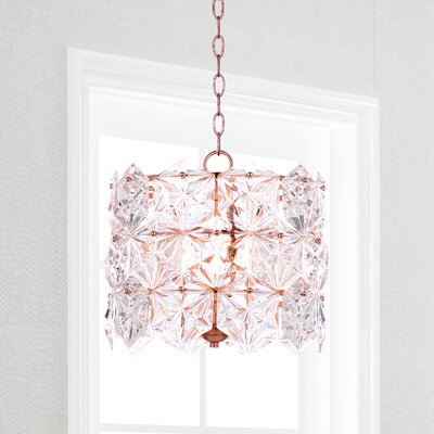Bilston 4-Light Drum Pendant