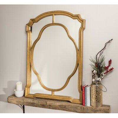 Accent Mirror Finish: Antiqued Gold