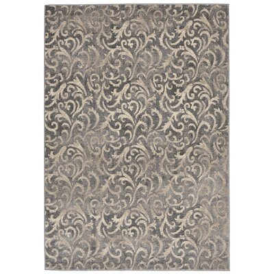 Landers Gray Area Rug Rug Size: 410 x 76