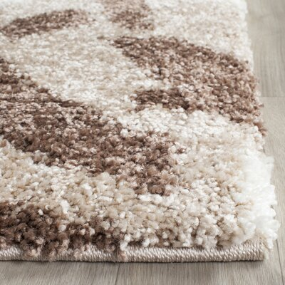 Flanery Light Beige Area Rug Rug Size: Rectangle 8 x 10